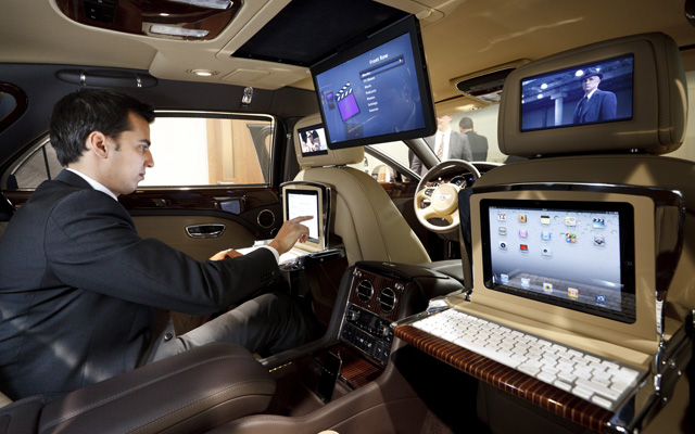 bentley mulsanne high tech