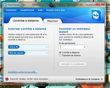 teamviewer controler à distance ordinateur