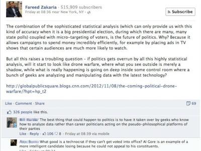 classement commentaire facebook