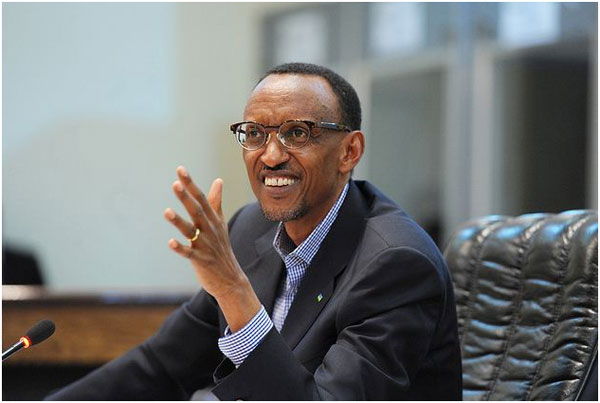 président africain connecté