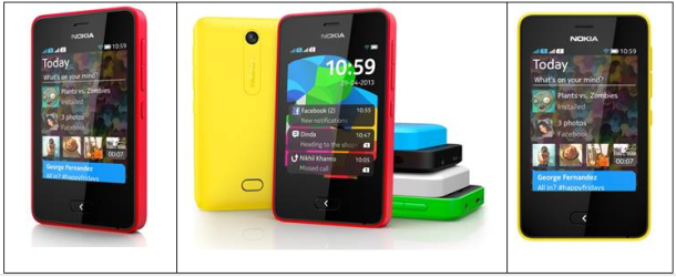 nokia asha smartphone low cost
