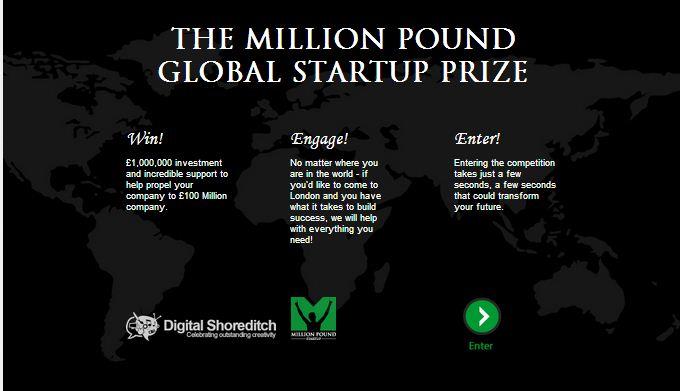 one startup one milion pound
