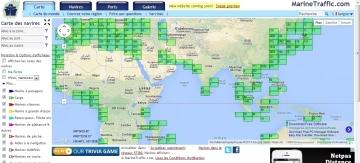 trafic maritime