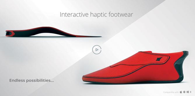 lechal chaussure connectée